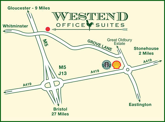 How to find Westend Office Suites